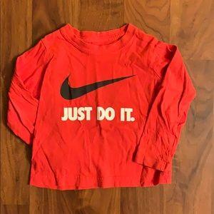 Toddler Nike Long Sleeve T
